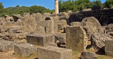 Grecja, olimpia św zeusa
