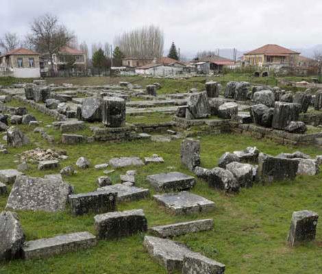 Tegea, Naos, Ateny