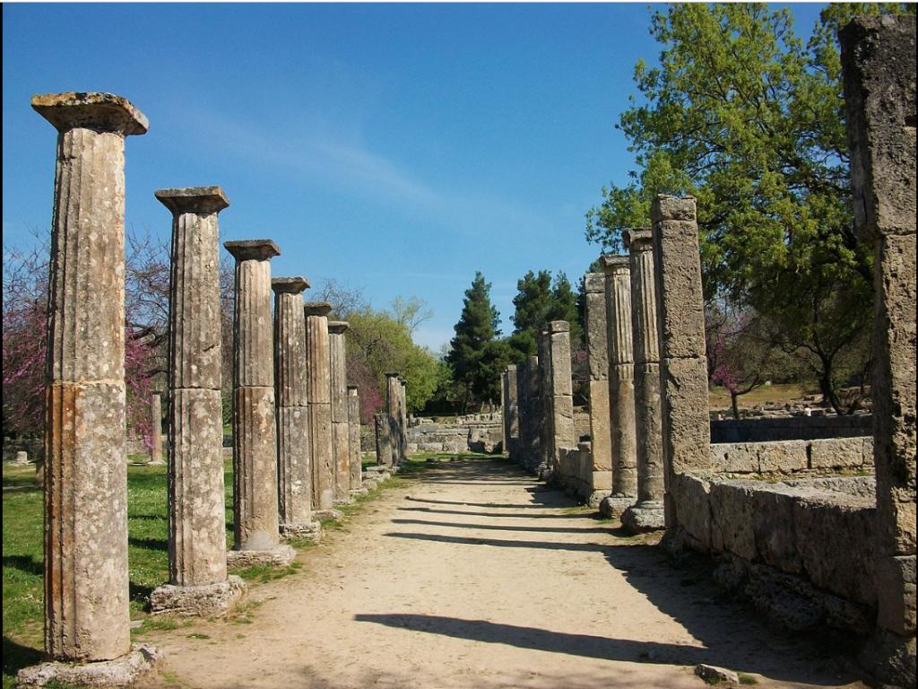 Palestra, Grecja, Olimpia