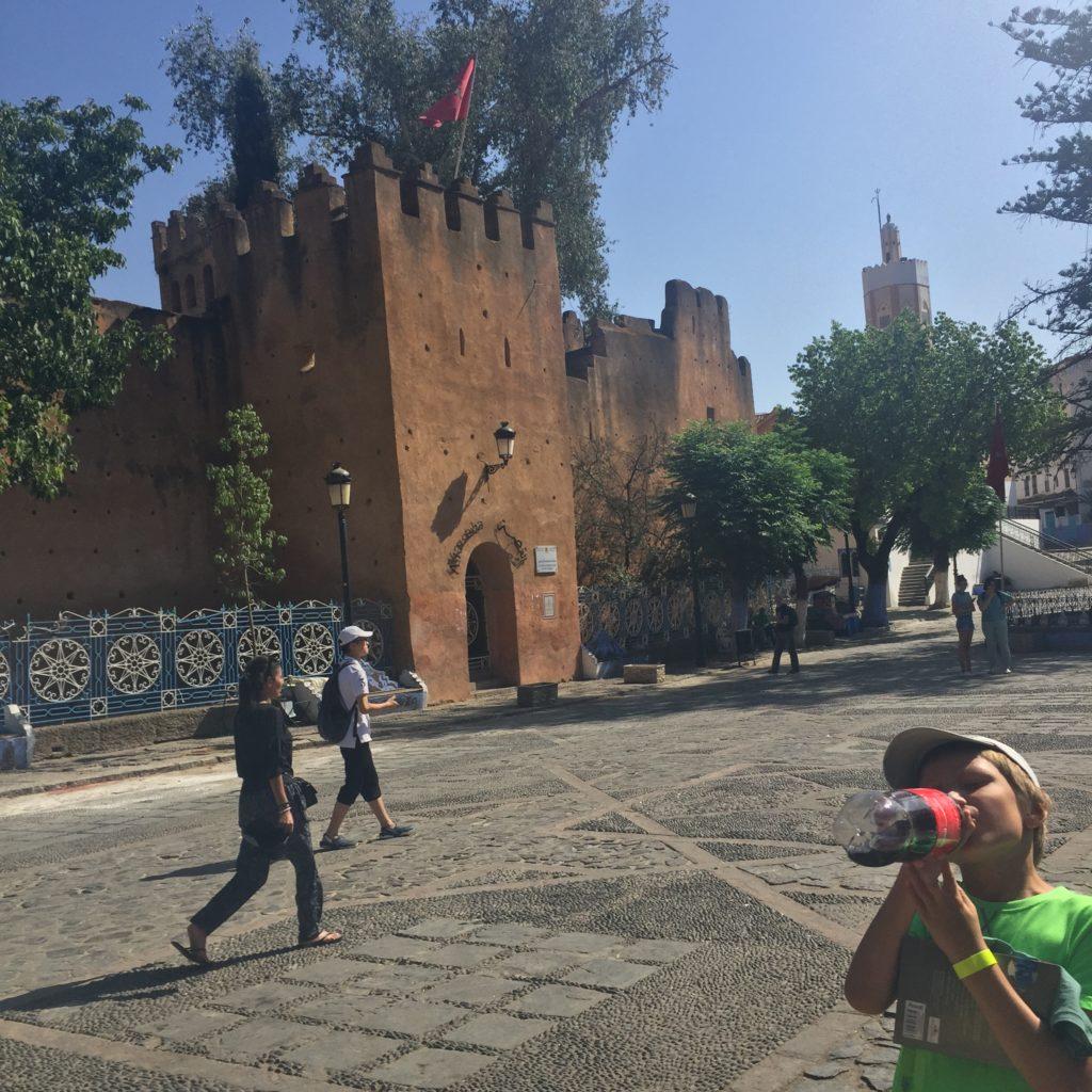 Plac Uta el-Hammam, Szafszawan, Maroko