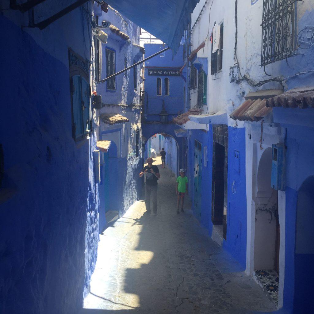 Błękitne miasto Szafszawan, Maroko