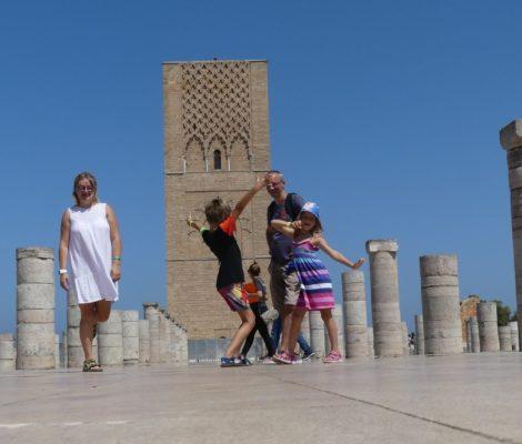 Rabat Wieża Hasana
