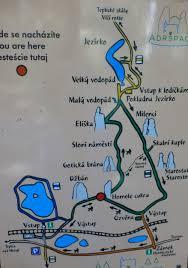 mapa skalnego miasta