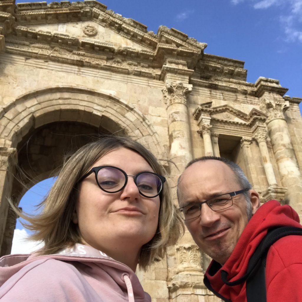 Jerash, jordania, Łuk Hadriana