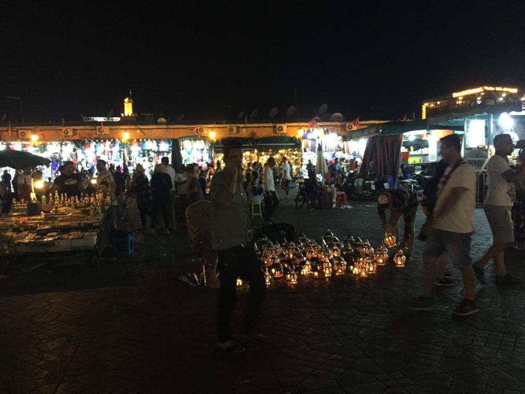 Plac Jamaa El Fna, Marakesz