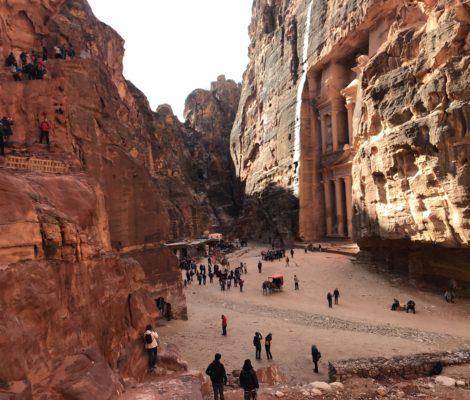 Petra, Skarbiec faraona, Jordania