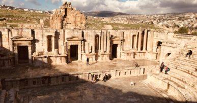 Jerash. Jordania