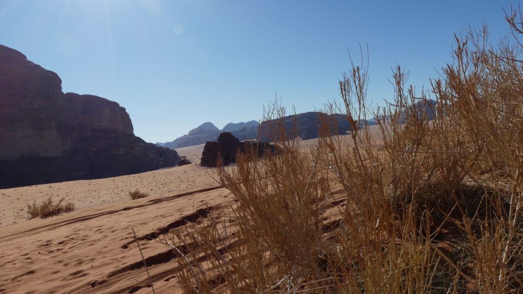 Widoki Wadi Rum