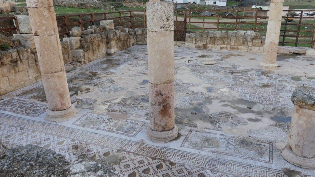 kościół biznatyjski mozaiki