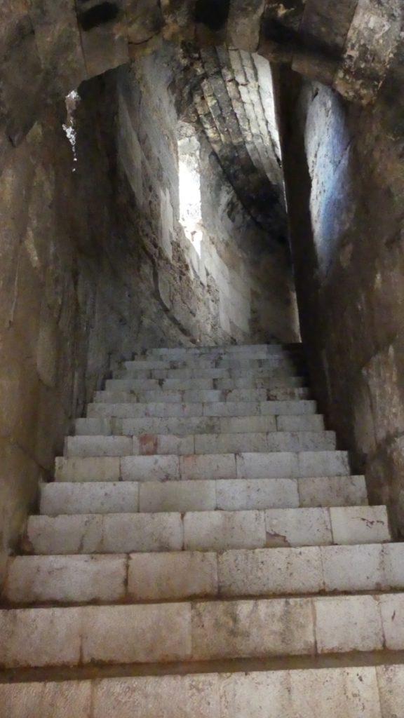 Teatr południowy Dżarasz schody