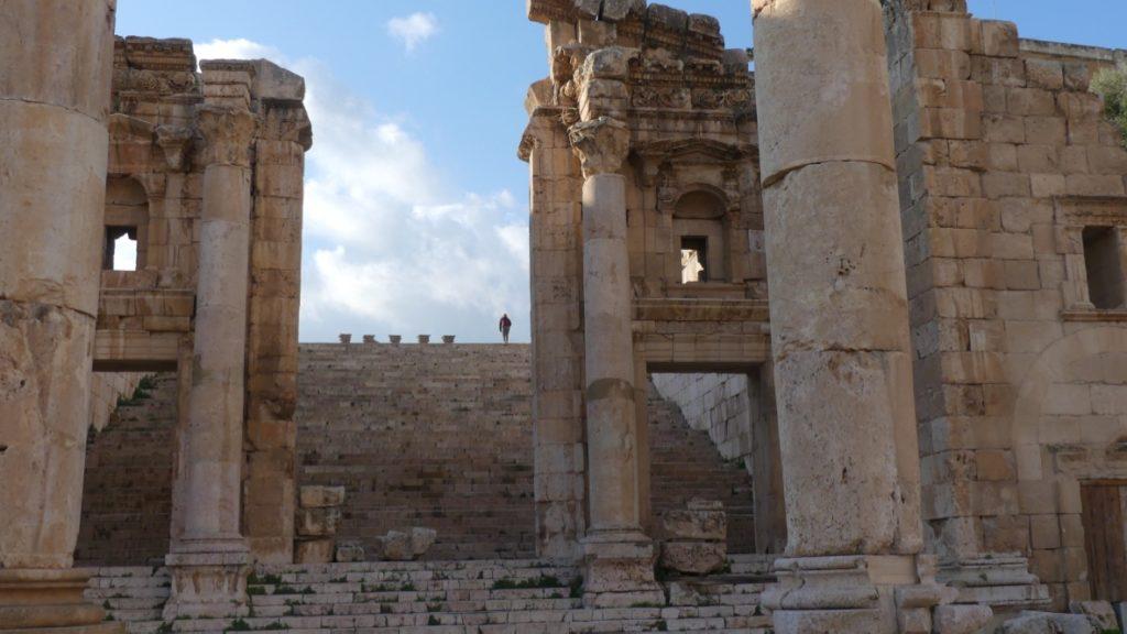 schody do świątyni artemidy