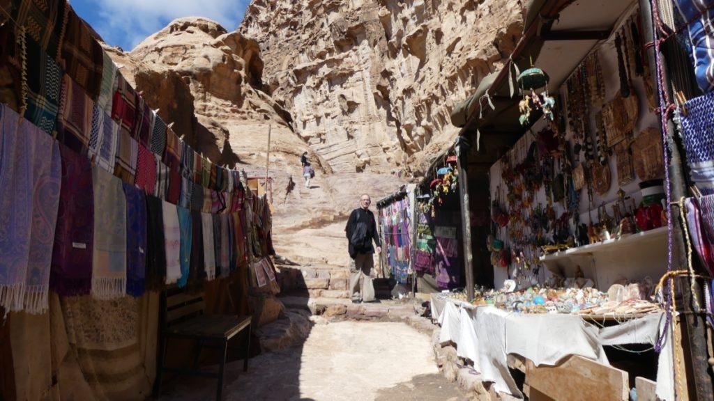 droga do Monastyru, Petra