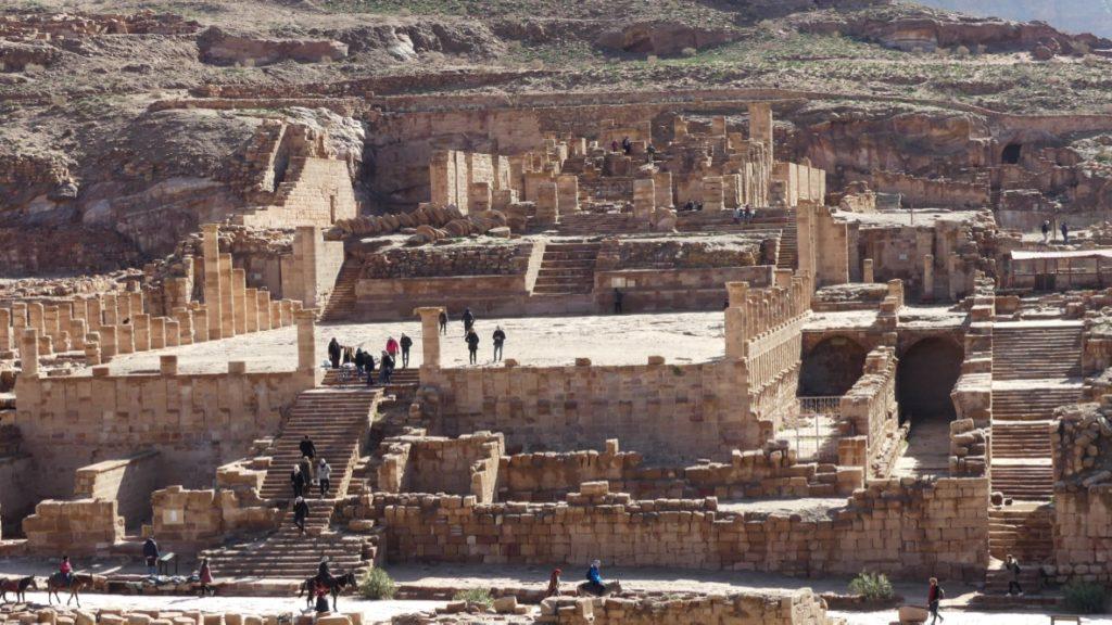 Wielka Świątynia Petra Jordania