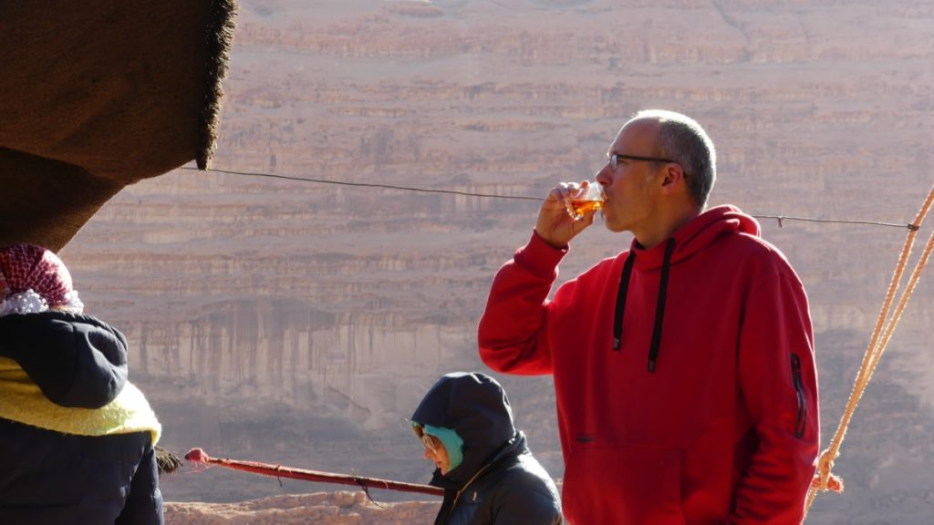 herbatka beduińska Wadi Rum