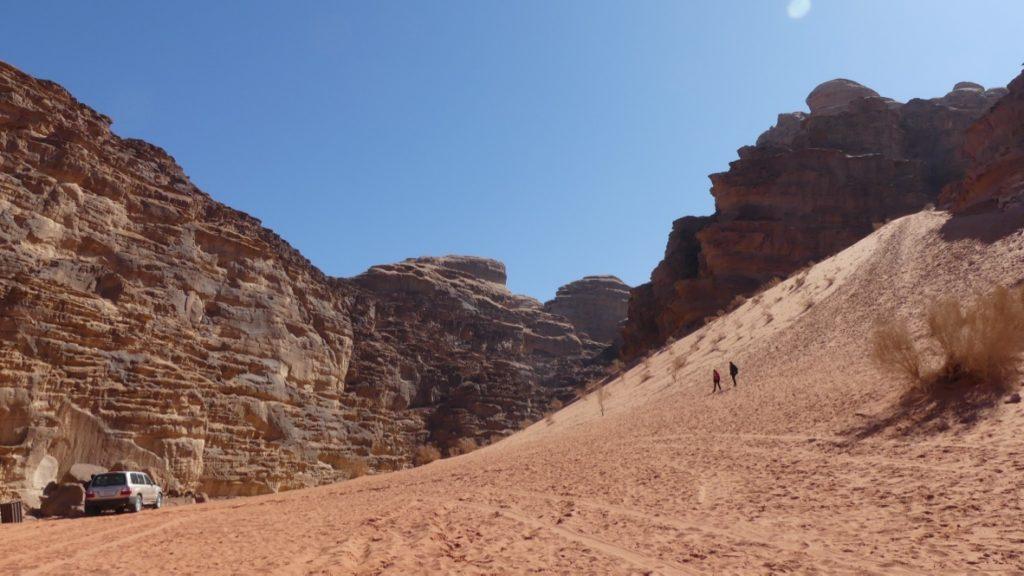 Lawrence z Arabii Wadi Rum