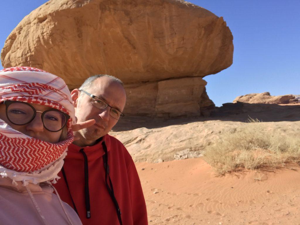 Grzybek Wadi Rum