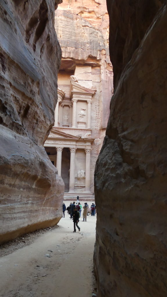 Grobowiec Faraona Petra Jordania