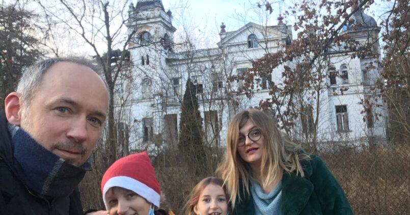Opuszczony Pałac Kępalskich w Woli Boglewskiej